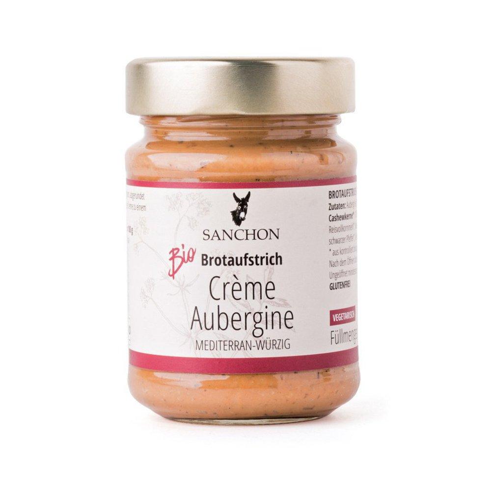 Brotaufstrich Crème Aubergine