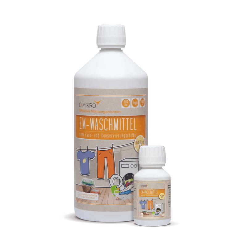 EM-Waschmittel mit Zitronenduft